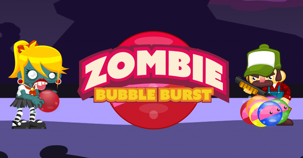 Play Zombie Bubble Burst on IOS or Android. Imagitale Studios mobile games