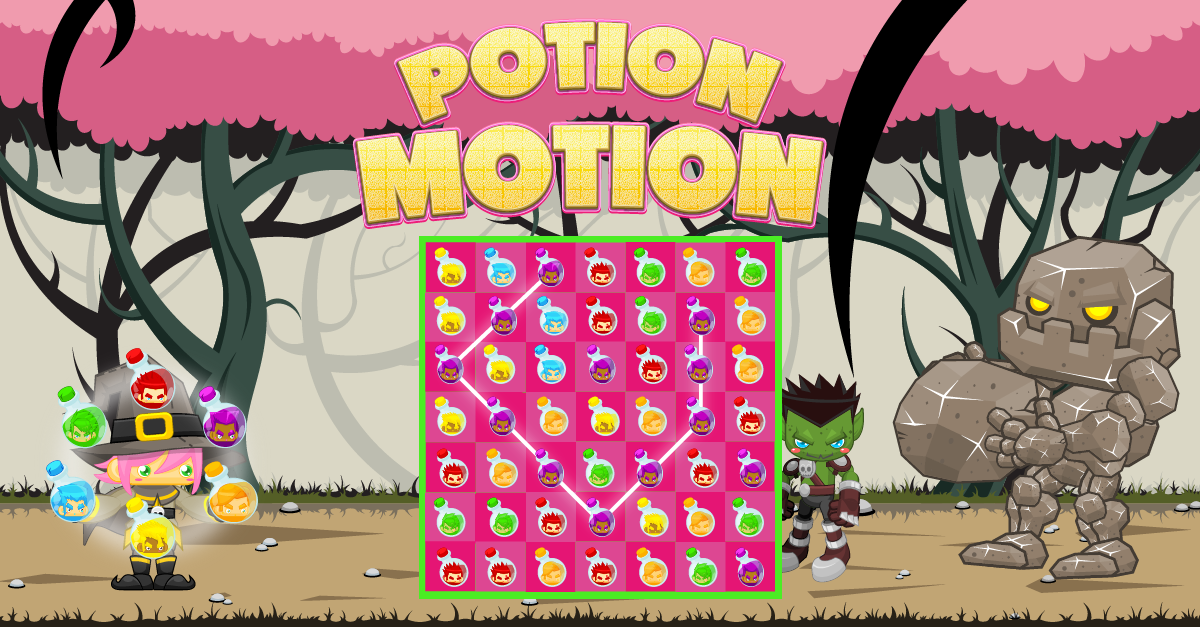 Potion Motion - Available on iOS and Android